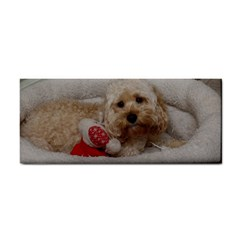 Cockapoo In Dog s Bed Hand Towel