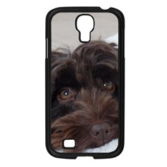 Laying In Dog Bed Samsung Galaxy S4 I9500/ I9505 Case (black)