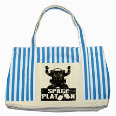 Platoon Space War Soldier Usa Striped Blue Tote Bag