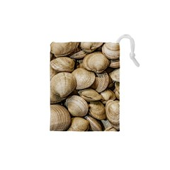Shellfishs Photo Print Pattern Drawstring Pouch (xs) by dflcprintsclothing