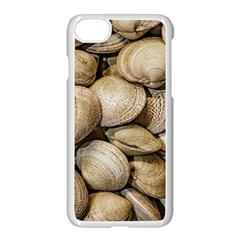 Shellfishs Photo Print Pattern Apple Iphone 8 Seamless Case (white)