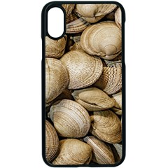 Shellfishs Photo Print Pattern Apple Iphone Xs Seamless Case (black) by dflcprintsclothing