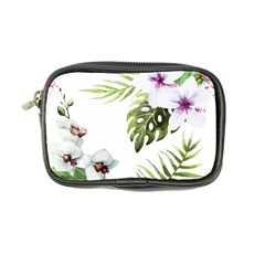 Tropical Flowers Coin Purse