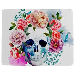 Watercolor Flowers And Skull Jigsaw Puzzle Photo Stand (rectangular) by goljakoff