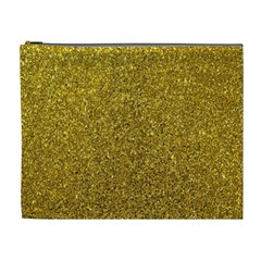 Gold Sparkles Cosmetic Bag (xl)