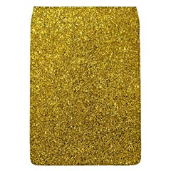 Gold Sparkles Removable Flap Cover (l) by retrotoomoderndesigns