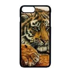 Tiger Cub  Apple Iphone 8 Plus Seamless Case (black) by ArtByThree