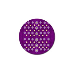 A Feel Of Flowers In Beautiful Air Golf Ball Marker by pepitasart