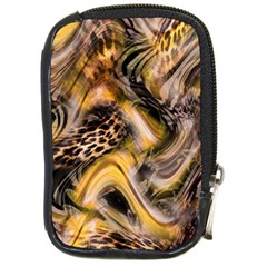 Luxury Animal Print Compact Camera Leather Case by tarastyle