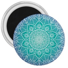 Colorful Mandala 3  Magnets