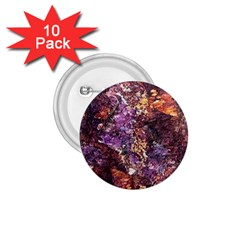 Colorful Rusty Abstract Print 1 75  Buttons (10 Pack)