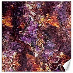 Colorful Rusty Abstract Print Canvas 16  X 16
