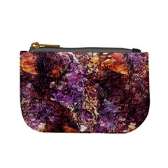 Colorful Rusty Abstract Print Mini Coin Purse