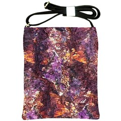 Colorful Rusty Abstract Print Shoulder Sling Bag