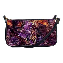 Colorful Rusty Abstract Print Shoulder Clutch Bag