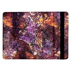 Colorful Rusty Abstract Print Samsung Galaxy Tab Pro 12 2  Flip Case
