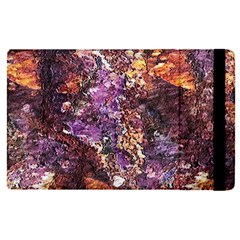 Colorful Rusty Abstract Print Apple Ipad Pro 9 7   Flip Case