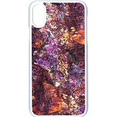 Colorful Rusty Abstract Print Apple Iphone Xs Seamless Case (white)