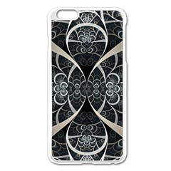 Luxury Design Apple Iphone 6 Plus/6s Plus Enamel White Case by tarastyle