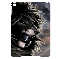 Angry Lion Digital Art Hd Apple Ipad Pro 9 7   Black Frosting Case