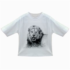Lion Wildlife Art And Illustration Pencil Infant/toddler T-shirts