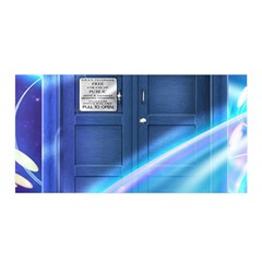Tardis Space Satin Wrap