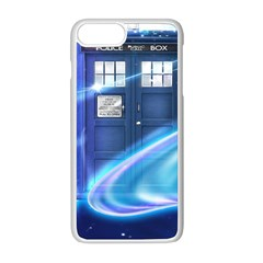 Tardis Space Apple Iphone 8 Plus Seamless Case (white)