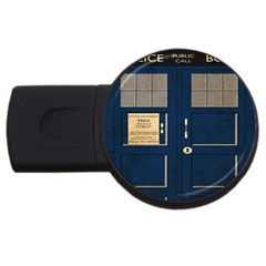Tardis Poster Usb Flash Drive Round (2 Gb)