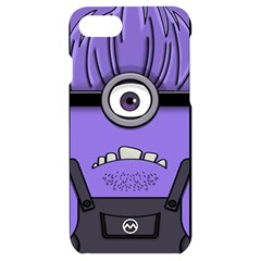 Evil Purple Apple Iphone 7/8 Black Frosting Case by Sudhe