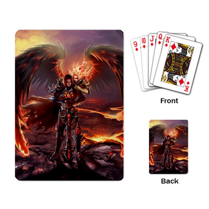 Fantasy Art Fire Heroes Heroes Of Might And Magic Heroes Of Might And Magic Vi Knights Magic Repost Playing Cards Single Design