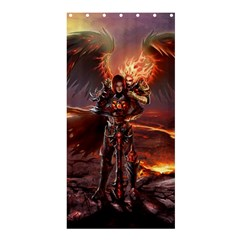 Fantasy Art Fire Heroes Heroes Of Might And Magic Heroes Of Might And Magic Vi Knights Magic Repost Shower Curtain 36  X 72  (stall)