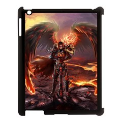 Fantasy Art Fire Heroes Heroes Of Might And Magic Heroes Of Might And Magic Vi Knights Magic Repost Apple Ipad 3/4 Case (black)