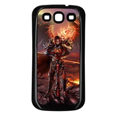 Fantasy Art Fire Heroes Heroes Of Might And Magic Heroes Of Might And Magic Vi Knights Magic Repost Samsung Galaxy S3 Back Case (black)