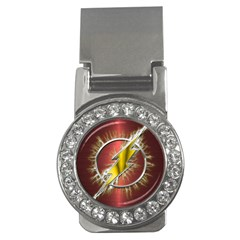 Flashy Logo Money Clips (cz)
