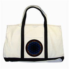 Flower Of Life Two Tone Tote Bag