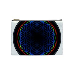 Flower Of Life Cosmetic Bag (medium)