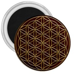 Flower Of Life 3  Magnets