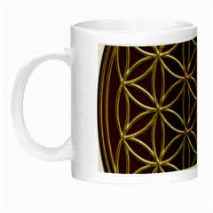 Flower Of Life Night Luminous Mugs