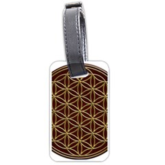 Flower Of Life Luggage Tags (two Sides)