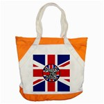 Punk Not Dead Music Rock Uk United Kingdom Flag Accent Tote Bag Front