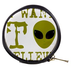 I Want To Believe Mini Makeup Bag