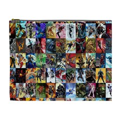 Comic Book Images Cosmetic Bag (xl) by Sudhe