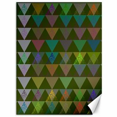Zappwaits Triangles 2 Canvas 36  X 48