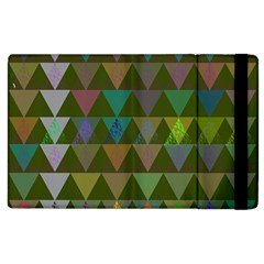 Zappwaits Triangles 2 Apple Ipad 3/4 Flip Case by zappwaits