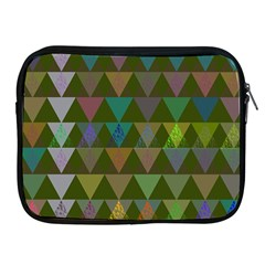 Zappwaits Triangles 2 Apple Ipad 2/3/4 Zipper Cases by zappwaits