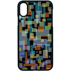 New York City Apple Iphone Xs Seamless Case (black)