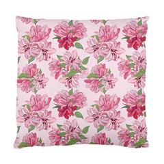 Pink Flowers Standard Cushion Case (one Side)