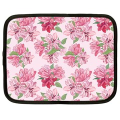 Pink Flowers Netbook Case (xxl)