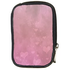 Lovely Hearts Compact Camera Leather Case by lucia