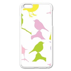 Bird Watching   Colorful Pastel Apple Iphone 6 Plus/6s Plus Enamel White Case by WensdaiAddamns
